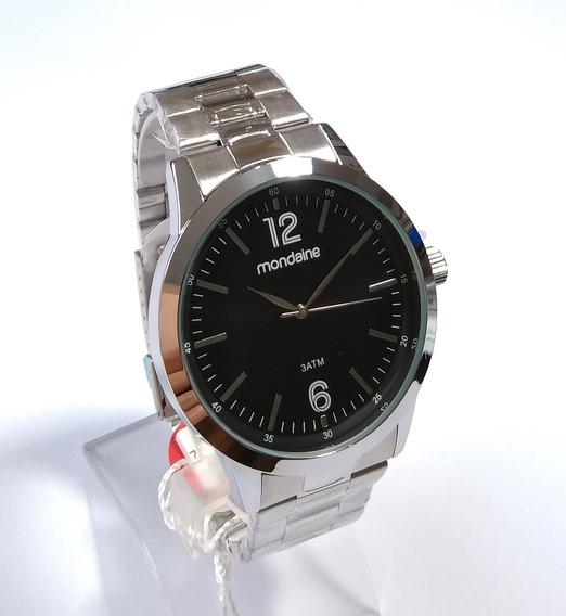 Relógio Masculino Mondaine Social Original 83422gomvne1