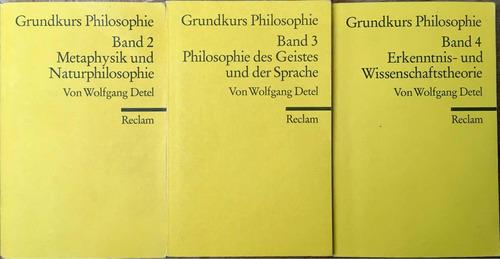 Curso Básico Filosofía Grundkurs Philosophie. Wolfgang Detel