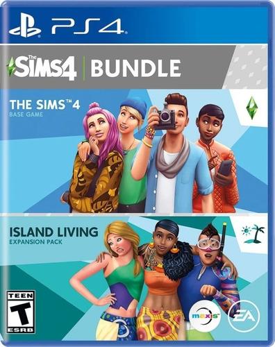 Imagen 1 de 3 de Sims 4 Bundle Island Living Expansion Ps4 Fisico Sellado Cd