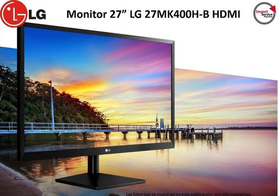 Monitor 27 Lg 27mk400h-b Hdmi Led
