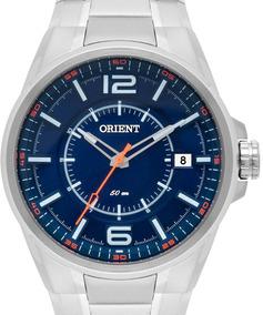 Relógio Orient Mbss1314 Dosx Prata Original