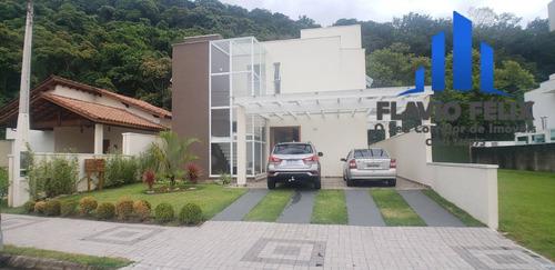 Imagem 1 de 15 de Casa Á Venda Condomínio Costa Nova Caraguatatuba 4 Suítes Amplas - 719