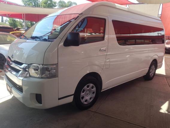 Excelente Toyota Hiace Gl Van 15 Pasajeros 2014