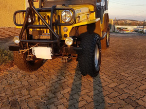 Jeep Willys Cj3b,motor Ford Focus Duratec 2.0, 16v, 147hp.