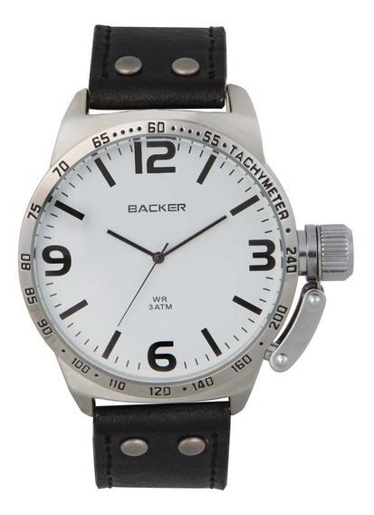 Relógio Masculino Backer 3187122m Elegante Barato De Vitrine