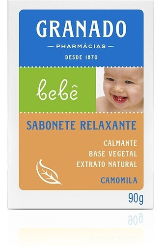 Granado Bebe Sabonete Camomila 90g