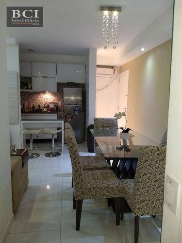 Apartamento Com 2 Dormitórios À Venda, 55 M² Por R$ 295.000,00 - Caxangá - Recife/pe - Ap10978