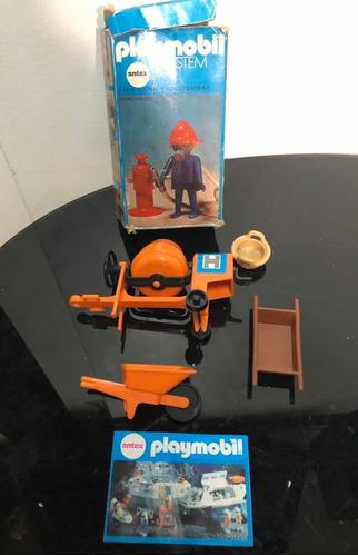 Playmobil Lote Vintage Antex Argentina Partes Caja Catálogo