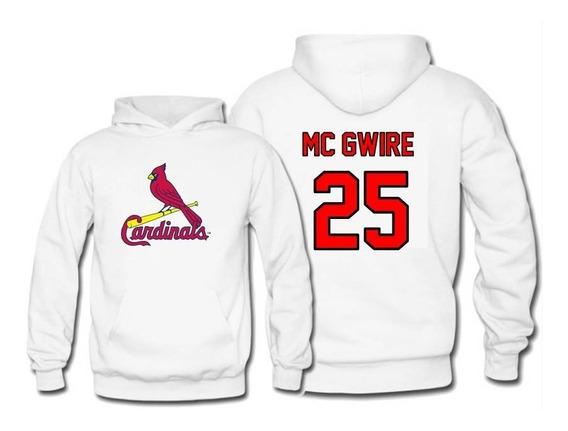 Sudadera Mark Mcgwire Jersey Saint Louis Cardinals Mlb