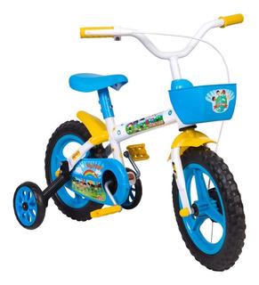 Kit 3 Bicicletas Bike Infantil Aro 12 Vários Modelos
