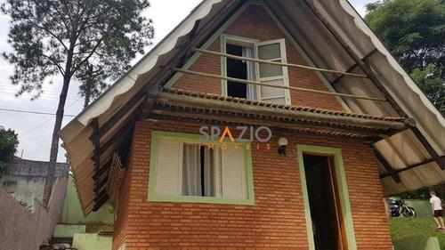 Imagem 1 de 9 de Casa Com 2 Dormitórios À Venda, 69 M² Por R$ 310.000,00 - Jardim Porangaba - Águas De São Pedro/sp - Ca0463
