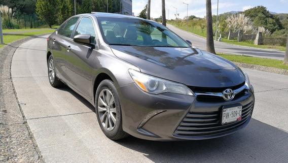 Toyota Camry 2017 Xle Navi Piel Qc Gps Factura Original