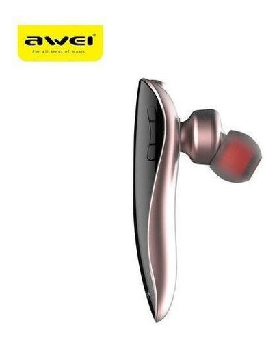 Audífono Awei N1 Hd Bluetooth Para Llamadas Kusa-n1-1-rosado