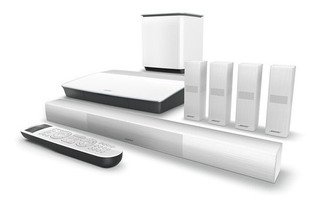 Bose Lifestyle 650 Home Theater System+ Omnijewel Sp White