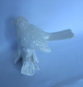 Pássaro Em Cerâmica