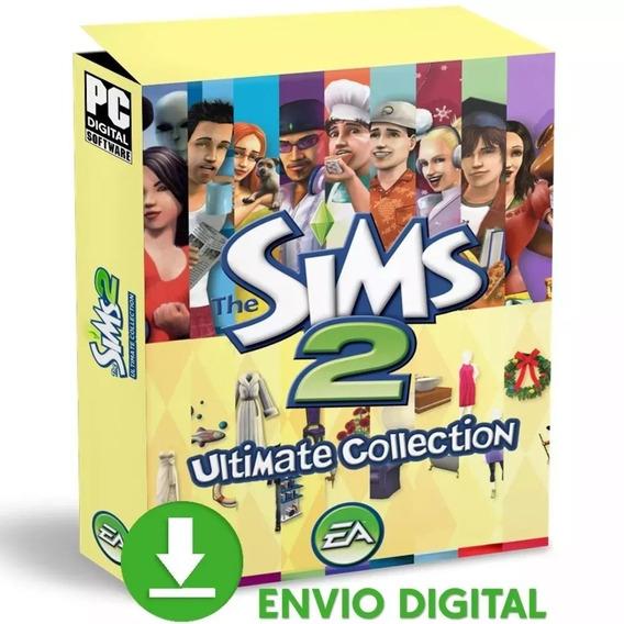 The Sims 2 Pc Todas Expansões Total 2019 Mídia Digital
