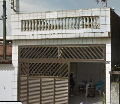 Casa Em Cidade Naútica, São Vicente/sp De 132m² 1 Quartos À Venda Por R$ 185.146,26 - Ca343209
