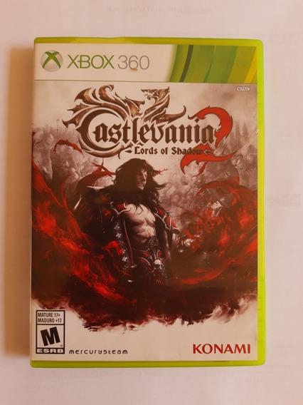 Castlevania Lords Of Shadow 2 Xbox 360 Original Mídia Física