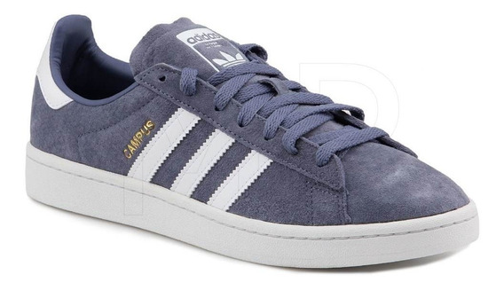 Tenis adidas Campus Azul Aq1089 Casual Sneakers Skate Original
