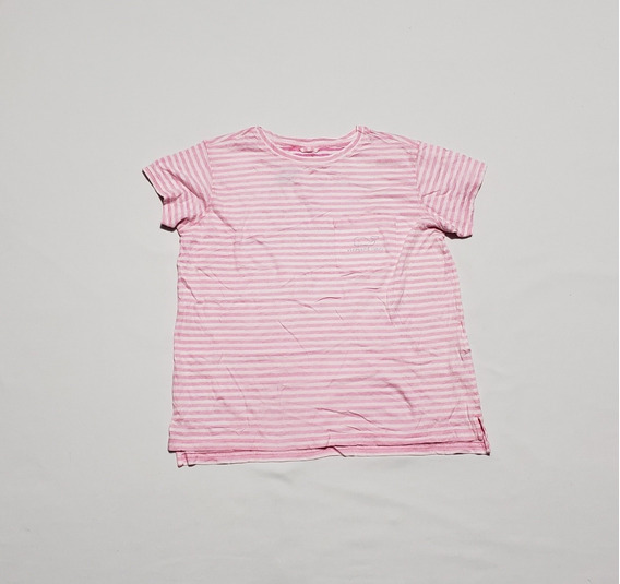 Playera Vineyard And Vines Mujer Xchica Rosa Lineas
