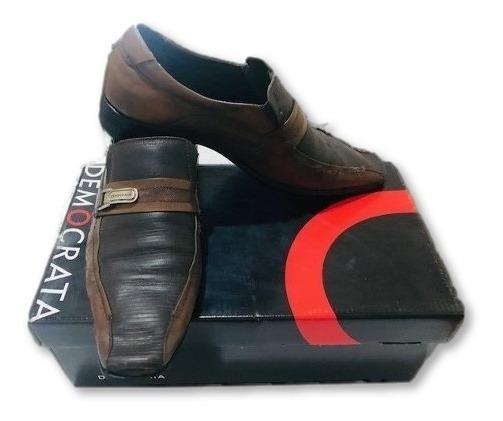 Sapato Masculino Democrata Denver 450047-002 Tam 39