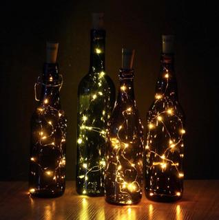 Botella Con Iluminación Led