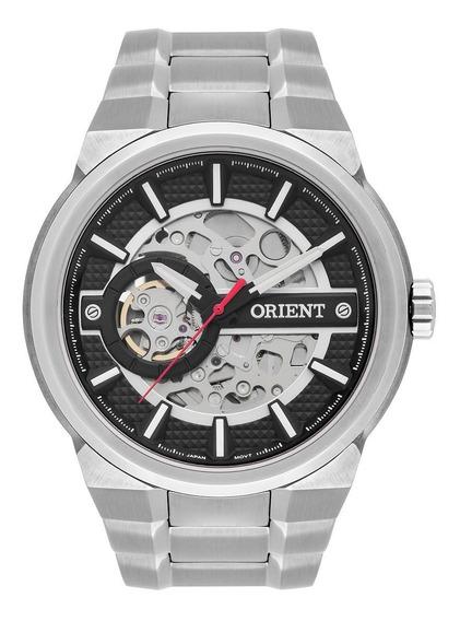 Relógio Orient Masculino Automático Nh7ss002 Esqueleto Aço