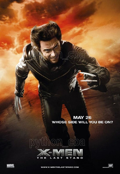 Pósters Saga X Men Wolverine Logan - 42x30 Cm - Nuevos