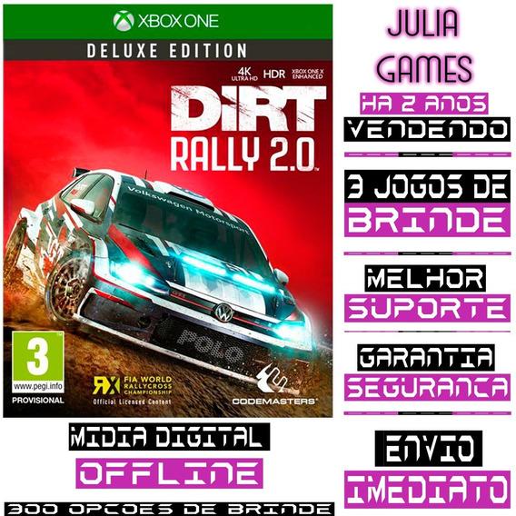Dirt Rally 2 Digital Deluxe Edition Xbox One Offline+ Brinde