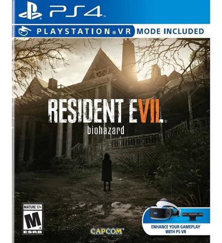 Juego Playstation Resident Evil 7 Biohazard Ps4 Fisico Nvo