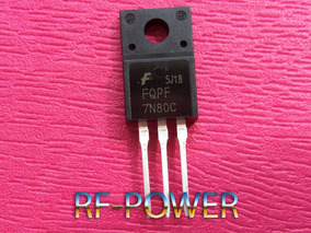 Transistor Mosfet Fqpf7n80c 7n80c 7n80 Novo E Original!