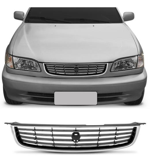Grade Radiador Corolla 1999 2000 2001 2002 Cromada