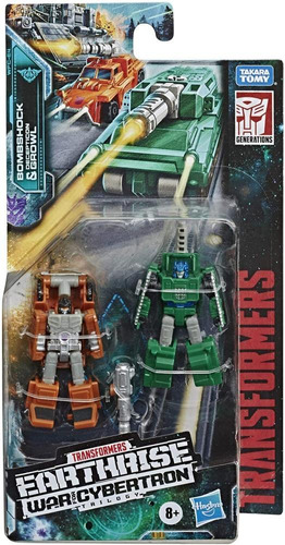 Transformers Earthrise Micromaster Military Patrol 2-pack