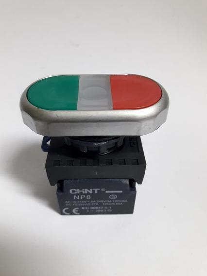 Botão Comando Duplo Ilum Plast Liga-desliga 1na/1nf 110/220v