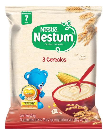 Cereal Infantil Nestum 3 Cereales 225gr Bolsa