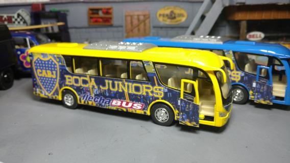 Micro Colectivo Boca Juniors De Metal 19cm