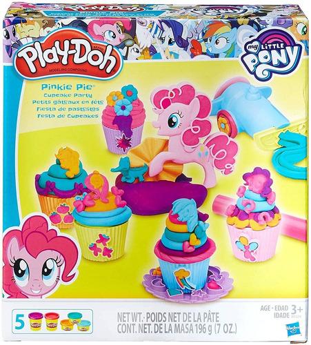 Imagen 1 de 5 de Masas Play-doh - Fiesta De Pastelitos My Little Pony E.full