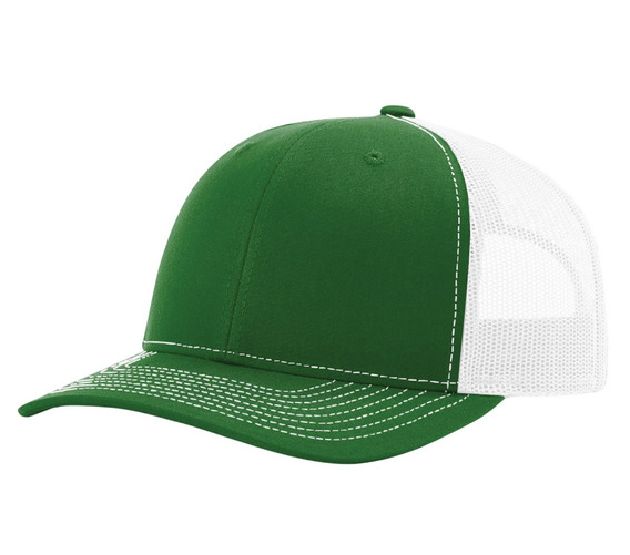 Gorra Richardson Verde / Blanco