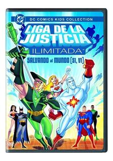 Liga De La Justicia Ilimitada Temporada 1 Volumen 1 Uno Dvd
