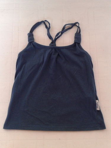 Musculosa Cheeky Talle 4 Color Petroleo