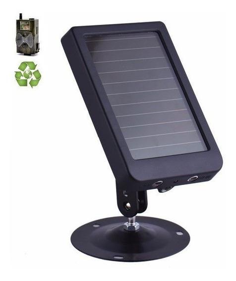 Painel Solar Câmera Trilha Suntek Entrada 9-12v / Saída 9v