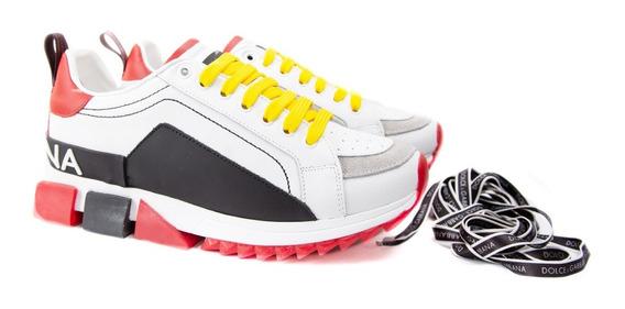 Tênis Sneaker Dolce & Gabbana Colors Top Promoção 50% Off