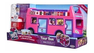 Gift Ems Autobus Mini Muñecas Regalo Sorpresa Mundomanias