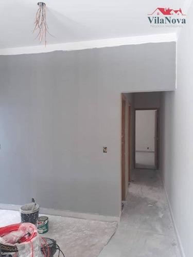 Casa Com 2 Dormitórios À Venda, 85 M² Por R$ 340.000,00 - Jardim Residencial Nova Veneza - Indaiatuba/sp - Ca1782