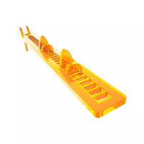 Suporte Para Placa De Vídeo Vulpes (orange) - Rise