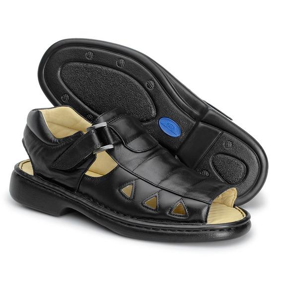 Sandalia Masculina Ortopédica Indicada Para Diabéticos