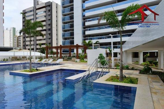 Apartamento Meireles Com 04 Suítes, 06 Vagas - Ap0134