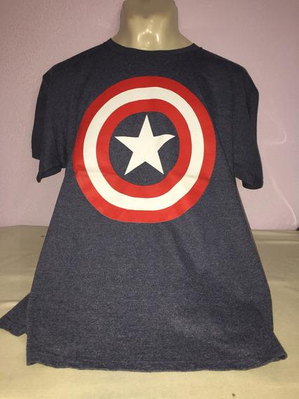 Playera Capitán America Escudo. Importada. Hot Topic