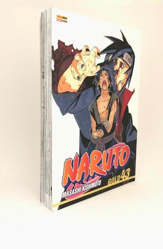 Naruto Gold Edição 43 - Mangá Panini
