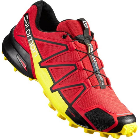Salomon Speedcross 4 Radiant Red Black Corona Yellow 381154